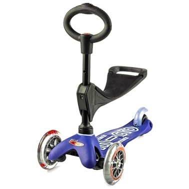 Micro Mini Micro Scooter 3in1 Deluxe Blue Mavi